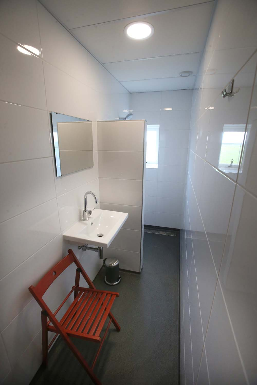 Een van de badkamers van Cleyn Alserd