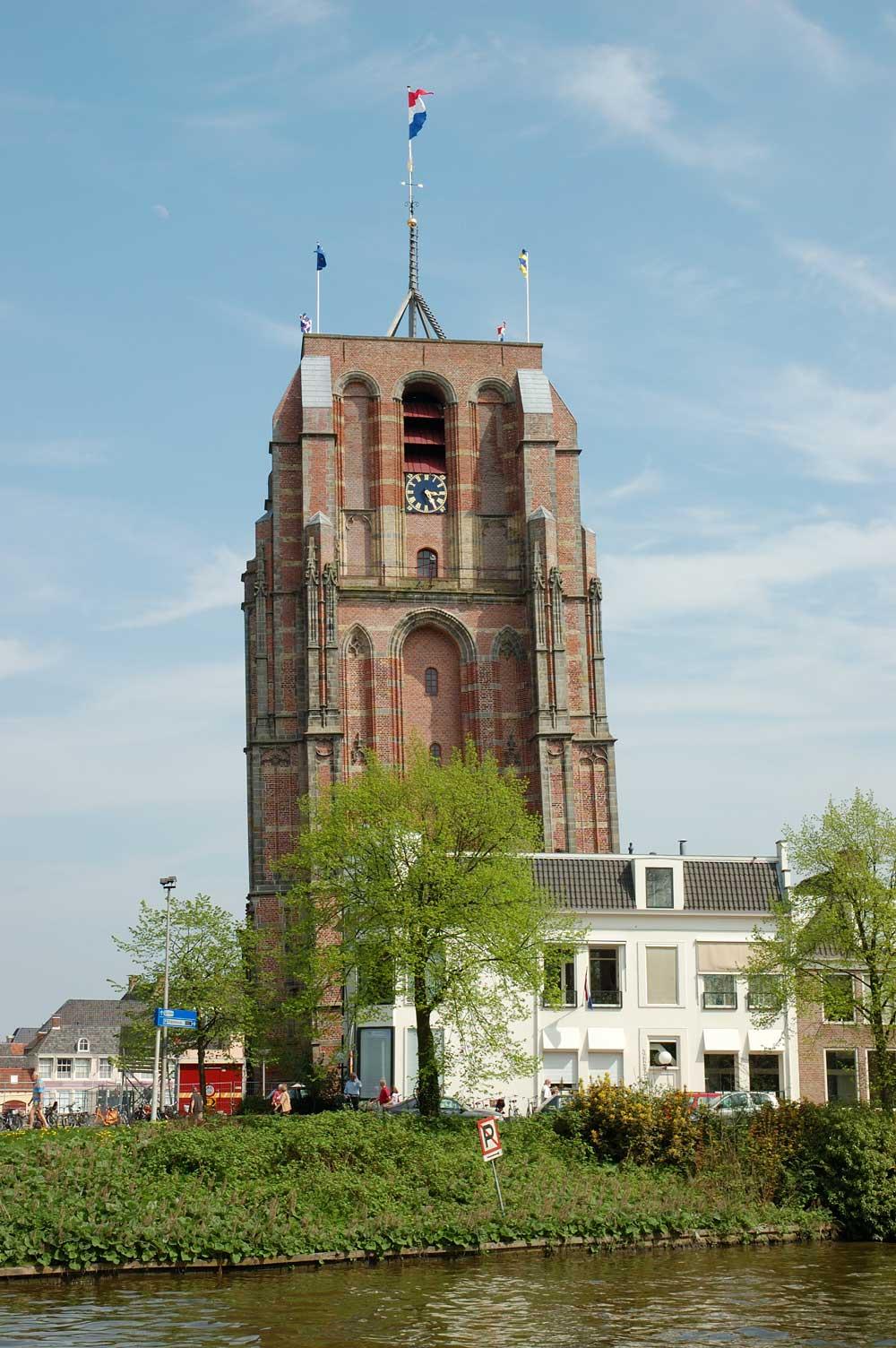 scheve toren oldehove leeuwarden friesland centrum